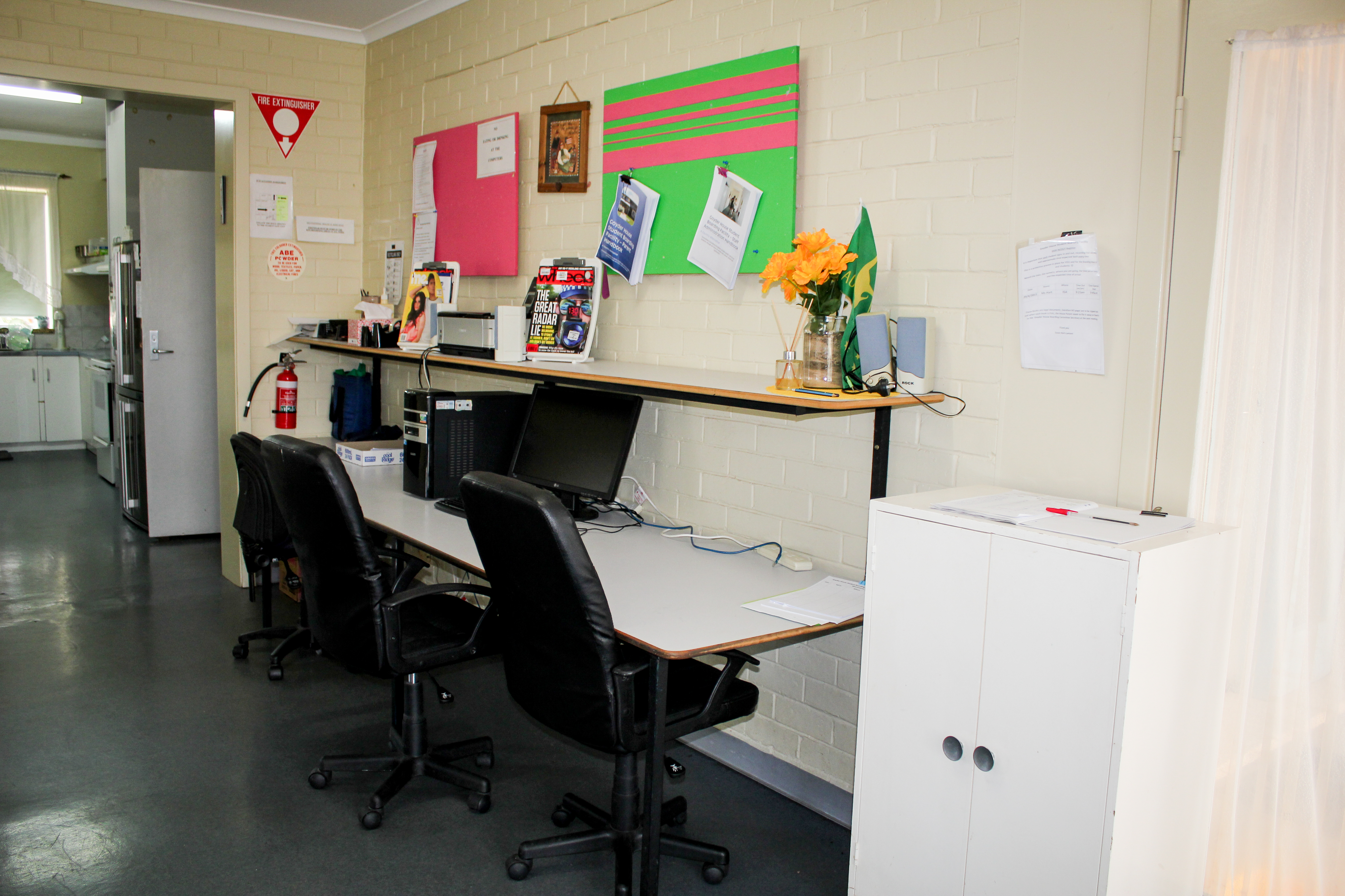 Computer and Study Room